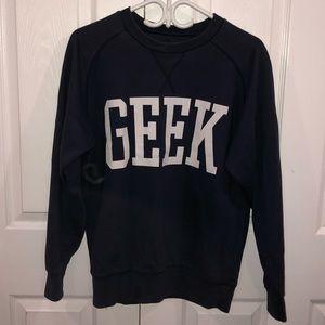 Sweaters - GEEK CREWNECK